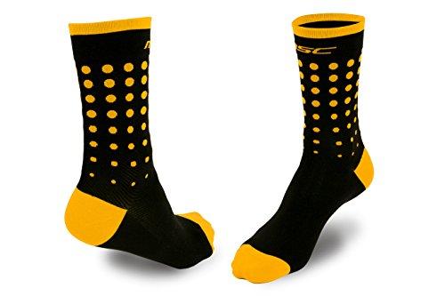 Calcetines ciclismo amarillos unisex