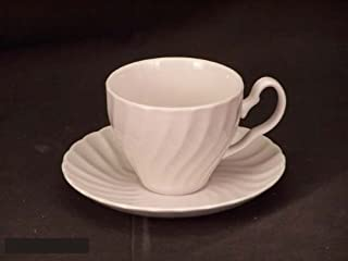 Johnson Bros. Regency White Cups & Saucers