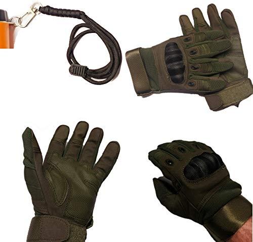 Calces365 Metalldetektor-Detektor-Handschuhe, extra Schutz und Finger verstärkt, um Rissen zu verhindern, verstellbare Handgelenkschlaufe, Pinpointer-Schlüsselband (X-Large)