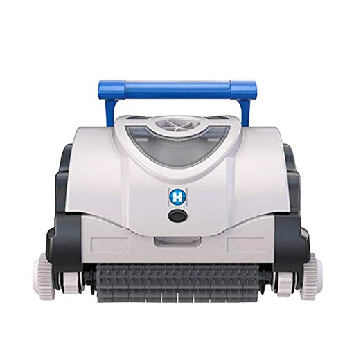Great Deal! AHELT-J Robotic Pool Cleaner with Powerful Rolling Brush and Long Flat Double Suction, I...