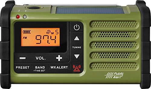 Sangean SG-112 AM/FM Multi-Powered Weather Emergency Radio