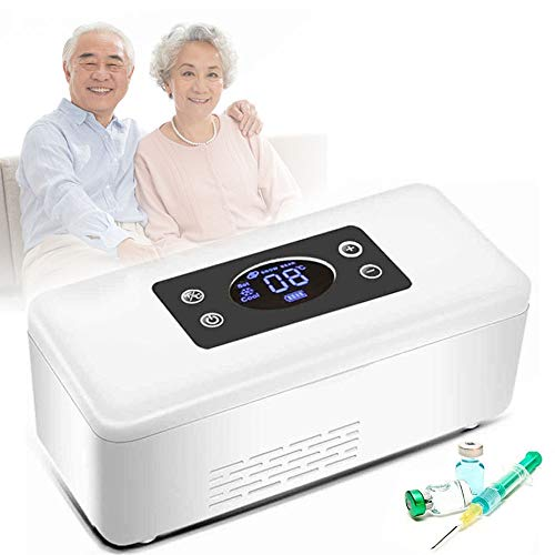 GBHJJ Refrigeratore per Insulina, Conservazione 2-25 ℃ per 8 Ore, Mini Frigorifero...