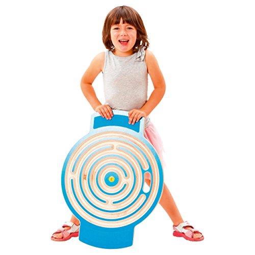 Trackboard Labyrinth mit 3 Kugeln Bewegungsspiel Therapiespiel, Bewegungstrainer