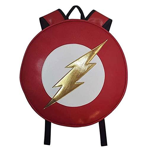 Towel Rings Capitan America - Mochila para Niños Anime Periférico Flash Capitán América Deadpool Mochila Redonda Mochila De Estudiante Mochila Escolar Impermeable