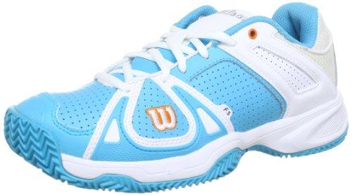 Wilson Stance CC WRS316690E035, Scarpe da Tennis Donna, Blu (Blau (Oceana)), 37