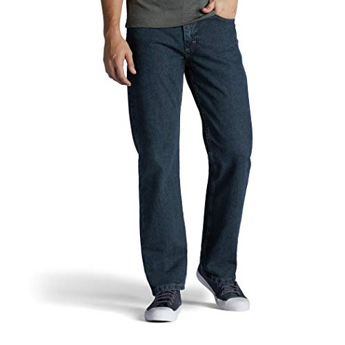 Lee Herren Regular Fit Bootcut Jeans - Blau - 38W / 30L