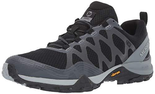 Merrell Women's Siren 3 Waterproof Hiking Shoe, Black, 09.0 M US