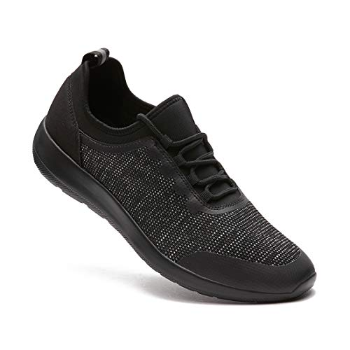Men's Lightweight Road Running Shoes Breathable Fashion Sneakers Athletic Tennis Casual Shoe for Walking