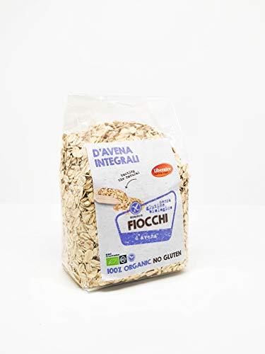 Liberaire Fiocchi di Avena Senza Glutine Integrali Biologici - Senza Conservanti - Senza Zucchero -...