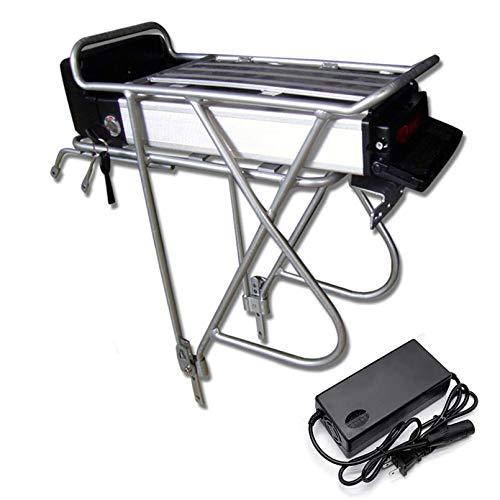Li-ion eléctrico E-Bici batería de 36V 48V 20AH / 25AH recargable posterior de la bicicleta rack kit de conversión de la bici de montaña de la batería de 250W 500W 750W 800W 1000W Motor,48V-25AH