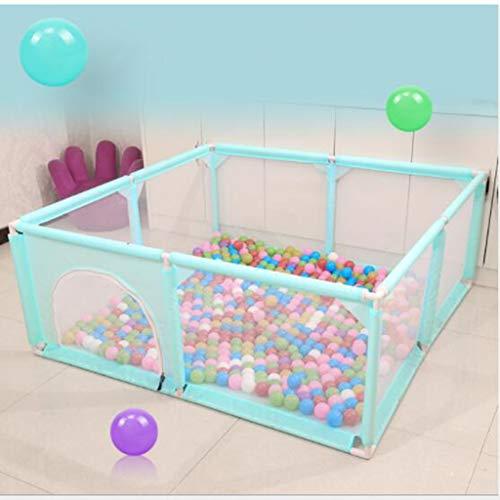 ZCAYIN Baby-Laufstall, Baby Ball Pool Zelt für Jungen und Mädchen, Sicheres Kriechen, Faltbarer Zaun, Sicherheitszäune für Kleinkinder (ausgenommen Bälle), Geeignet für Babys von 1-8 Jahren