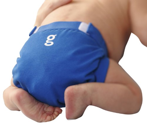 Gnappies globetrotter blu Gpants, Small (3–7kg)