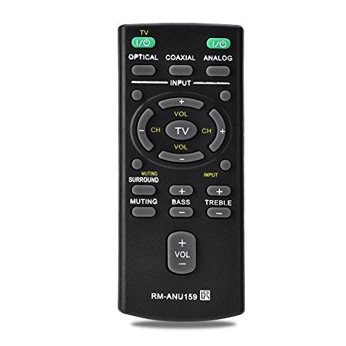 RM-ANU159 Control Remoto de Barra de Sonido para Sony, Reemplazo de Control Remoto Universal para Sony RM-ANU159 Barra de Sonido
