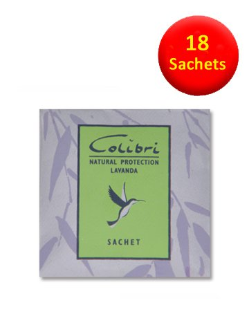 18 Mini-Sachets Anti-mites Parfum lavande naturelle-Lavande-mites naturels répulsifs à utiliser dans les armoires, les tiroirs, les sacs de rangement