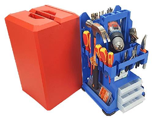 Caja de herramientas Tbox 400 Posso versión original azul rojo