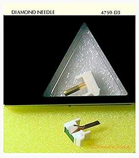 78 RPM PHONOGRAPH NEEDLE FOR Shure M70 M71 M72 M75 78 RPM 760-D3