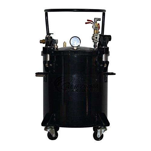 California Air Tools CAT-365C 5 gallon Pressure Pot For Casting, Black