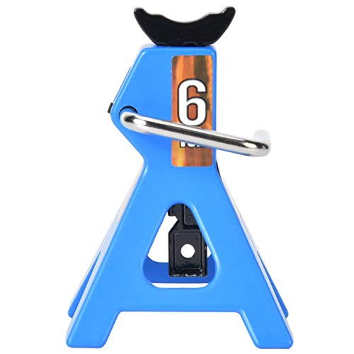 Junlucki Wagenheber 6T, RC Auto Metall Hebebühne Wagenheber Auto Hebebühne für Haus Garage High Lift Jack Ständer Zubehör passend für SCX10 TRX4 D90 1/10 RC Crawler (blau)