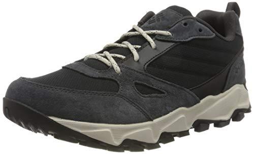Columbia Ivo Trail, Baskets pour homme, Gris (Black,...