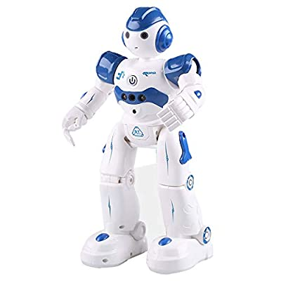 Toy Robot for Kids,Smart Robot Remote Control Intelligent Programmable Robot Gesture Sensing Robot Kit with Walking Dancing Singing Science Humanoid Robot for Kids Gifts (1PC ROBOT-1PC USB)