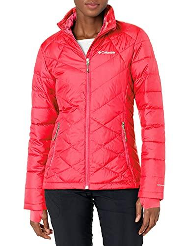 Columbia Jacket Chaqueta Heavenly, Geranio Brillante, X-Small-10X-Large para Mujer