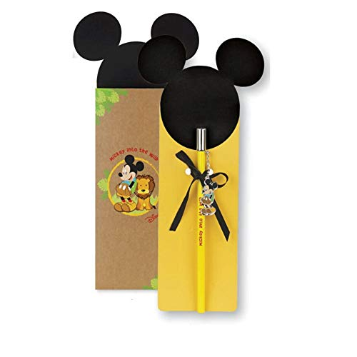 Cupido Formoso bombonera de lápiz Mickey Mouse Disney Jungla Wild Party h 17,5 cm con caja Art 69593