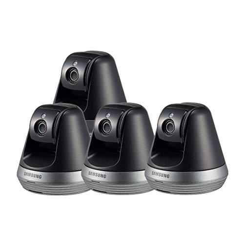Samsung SNH-V6410PN SmartCam Pan/Tilt Full HD 1080p Wi-Fi IP Camera Bundle Quad Pack