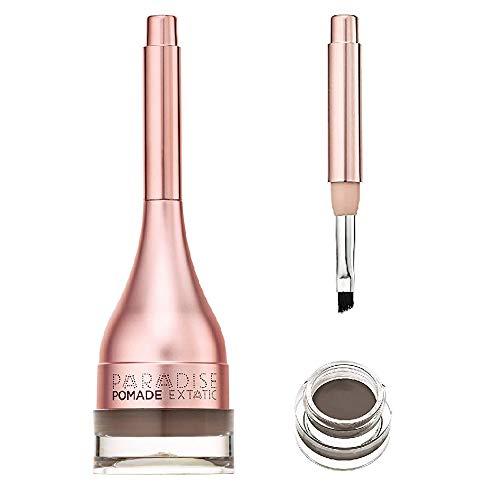 L'Oréal Paris Paradise Extatic Pomade Nr. 104 Brunette - wasserfester Augenbrauenstift für langanhaltende Definition und Fülle mit integriertem Pinsel zur optimalen Anwendung, 1er Pack (1x3g.)