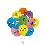 45Pcs Video Game Birthday Balloons 12 Inch Size 9 Styles Video Game Party Favors Supplies Decal