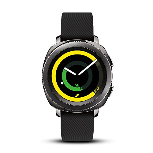 Samsung Gear Sport Smartwatch (Bluetooth), Black, SM-R600NZKAXAR – US Version with Warranty