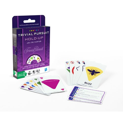 Hasbro - 50461 - Jeu de Cartes - Trivial Pursuit Hold-up