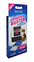Absorbs and retains up to 80 Percent of hazardous ammonia gases for a safe and cat friendly environment Ideal for purifying and freshening the air in your cat's litter box Can be easily attached to the top of any hooded cat litter box using enclosed ...