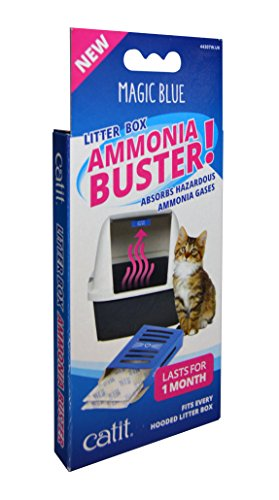 Catit Magic Blue Ammoniak-Buster – reduziert Urin-Geruch und Gerüche für eine frische Katzentoilette.