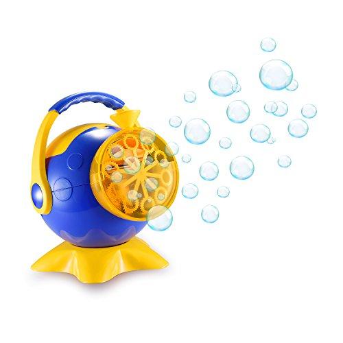 スーパーバブルマシーン 子供バブルマシン シャボン玉製造機 子供のおもちゃ しゃぼん玉発生機 電動 ?子活? タコ キャンプで遊ぼう! シャボンダマシーン 外遊び・プール・アウトドア(タコ)