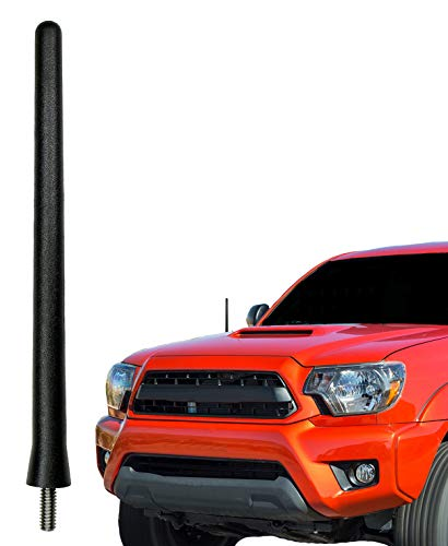 AntennaMastsRus - The Original 6 3/4 Inch Antenna fits Toyota Tacoma (1995-2015) - USA Stainless Steel Threading - Car Wash Proof - Internal Copper Coil - Premium Reception