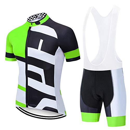 LLYY Maillot Ciclismo, Ropa Ciclismo veranopara Hombre,Conjunto de Jersey de Ciclismo de Verano Ropa de Bicicleta de montaña Ropa de Bicicleta MTB Ropa para hombre-A11_4XL