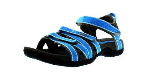 Teva W Tirra, Damen Sport- & Outdoor Sandalen, Blau (578 Malibu Blue), 37 EU (4 UK)