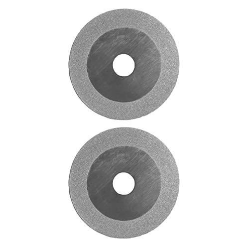 LOPQOI Pratico 2 PCS 100mm Grinder Ruota Diamante Diamante Tungsteno Ammorbidimento Affilatrice for fresatura taglierina for taglierina for Utensili elettrici Accessori .Strumenti abrasivi