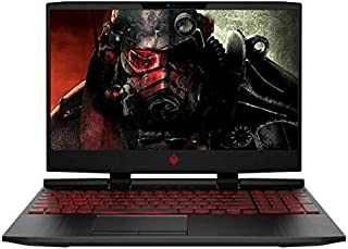HP OMEN GAMING LAPTOP - INTEL CORE i7-9750H 2.6GHz Processor, 8GB RAM, 1TB HDD, 4GB NVIDIA GTX 1650 GRAPHICS CARD, 15.6 INCH FHD IPS DISPLAY, WIN10, ENGLISH KEYBOARD BACKLIT, BLACK COLOUR