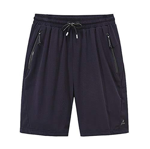 waotier Pantalones de Playa de Verano de Hombre Grande y Alto, Casual, de Secado rápido, 3 Colores, 9 Tallas, Pantalones Cortos Deportivos Ocasionales