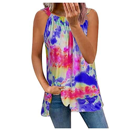 KIMODO Kurzarm T-Shirt Schulterfrei Reißverschluss V-Ausschnitt Sportshirt Spitze Damen Bluse Tee Tops Atmungsaktiv Lose Elegant Casual Tunika Oberteile (H-Blau, L)
