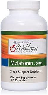 Wellness Resources Melatonin 0.5 mg - 180 Veggie Capsules