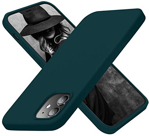 Cordking Designed for iPhone 12 Pro Case Designed for iPhone 12 Case Silicone Shockproof Phone Cover with Soft AntiScratch Microfiber Lining 61 inch Teal