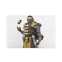 エーペックスレジェンズ ジグソーパズル1000ピース-大人の子供パズルおもちゃゲームクラシックパズル教育ギフト家の装飾壁ア(75x50cm)パズル