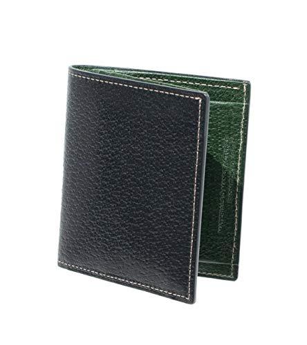 IS/IT(イズイット) 二つ折り財布 カード段3 スケール財布 クロ