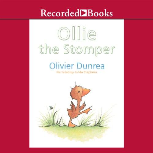 Ollie the Stomper audiobook cover art