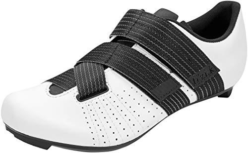 fizik Tempo Powerstrap R5 Rennradschuhe weiß/schwarz Schuhgröße EU 46 2020 Rad-Schuhe Radsport-Schuhe