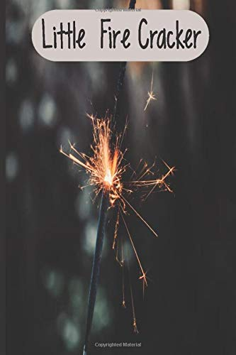 Little Fire Cracker: firework fuse , wedding sparkles , diwali firecrackers, fireworks sticks, party, birthday , 4th of july sparklers , notebook , journal