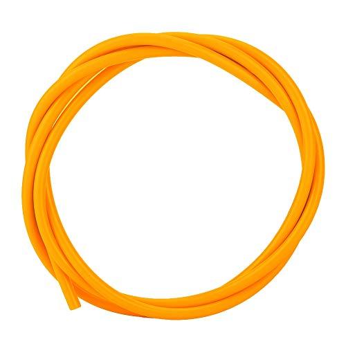 PTFE-slang 1M PTFE-buis J-kop toevoerpijp Hotend-slangextruder 3D-printeronderdeel Accessoires Levering op lange afstand gebruiksvriendelijk (oranje)