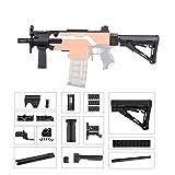 JGCWorker Mod Kit Set for Nerf N-Strike Elite Stryfe Upgrade Model Nerf Modulus Attachment (MP5-K-A)